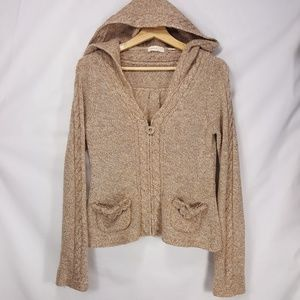 Anthropologie sleeping on snow pocketful cardigan